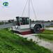水庫清漂割草船蘆葦割草船水上除草割草船水下植物打撈船