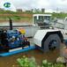 清潔水面水草收割打撈船河道垃圾打撈船