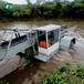 全自動割草保潔船風景河道打撈收集垃圾與水生植物保潔