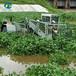 水面水生植物收割船水葫蘆水花生收割打撈船