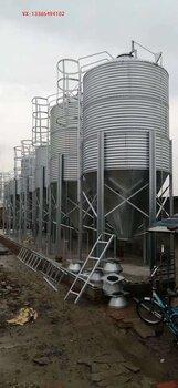 陕西20吨养殖料塔甘肃20吨养殖料仓宁夏20吨镀锌料塔料塔厂家