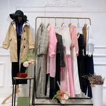 诉求女装是一线品牌吗广州品牌女装尾货库存清仓直播货源图片