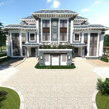 莆田農村自建房三層新中式小別墅設計施工