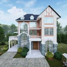 廈門農村三層歐式小別墅設計施工