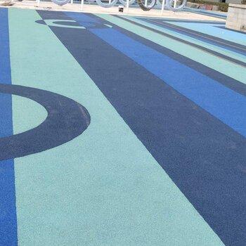 承接塑膠跑道人造草坪施工