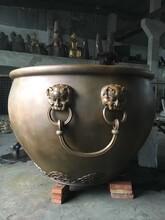 北京铜缸加工图片