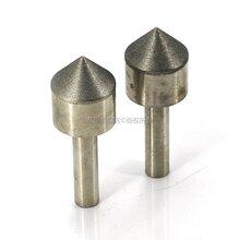 东巨角度CBN磨头东莞异型氮化硼磨头厂家订做锥形电镀磨棒