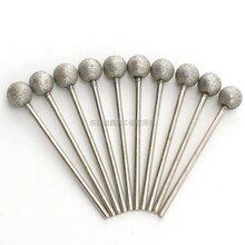 订制球形金刚石磨头东莞SDC球头磨棒圆弧槽成型磨棒图片
