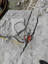 采石場采石靜態分石機巖石劈裂機