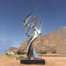 咸宁不锈钢抽象雕塑定做服务图片