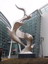 南京不锈钢校园雕塑订制服务图片