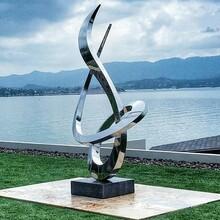 常州不锈钢景观雕塑订制公司图片