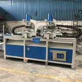 优易通机械方管45度双头切角机铁管框架双工位冲90度角品牌厂家