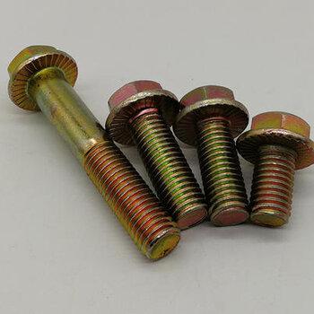 金華定做法蘭面螺栓批發價格
