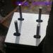 訂購實物網架橡膠墊塊的產品咨詢,網架打孔橡膠墊塊的尺寸消息