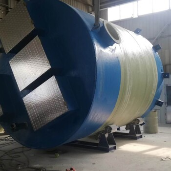 平凉玻璃钢一体化泵站厂家批发