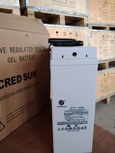 圣阳狭长蓄电池12V100AH狭长型6FTJ-100B狭长系列前置端子蓄电池