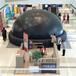 巨型扭蛋机球幕影院真人推币机水幕电影出租出售