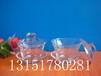 耐高温八宝茶盖碗玻璃三才碗功夫茶具三炮台碗子