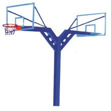 地埋圓管雙位籃球架