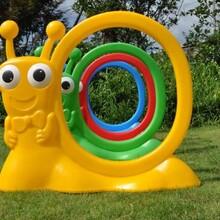 幼兒園塑料游戲鉆圈