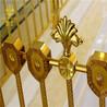 别墅纯铜楼梯扶手赋予空间更高的纯粹