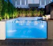私人别墅亚克力游泳池会所压克力泳池定做有机玻璃厚板厂家