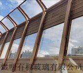 铁路高速公路亚克力声屏障楼宇压克力隔音板加筋压克力板厂家