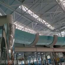承接亞克力空中漂流河工程供應漂流河亞克力板材厚板圖片