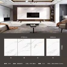 廠家生產銷售陶瓷巖板現代輕奢背景墻磚板高密度超薄瓷磚圖片