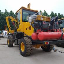 柴油動力高速護欄打樁機混凝土打樁機