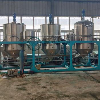 河南耀乾年产五十万吨食用油精炼设备湖南国标精炼油设备