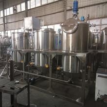 新疆核桃油精炼设备1级核桃油加工提炼生产线图片