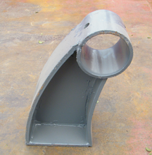 撫順鋼板焊接護欄支架生產圖片