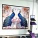 5d墻體噴繪機噴頭高清墻面彩繪墨水創業機器壁畫打印3d墻繪機耗材