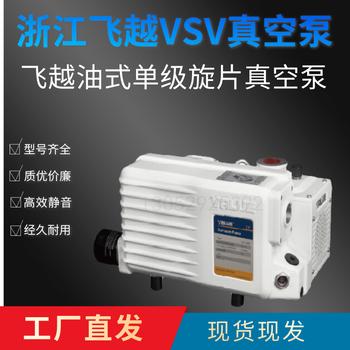 新款飞越真空泵VSV-040单级旋片油泵VSV-40P负压互换莱宝SV40B普