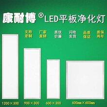 手术室专用LED平板洁净灯吸顶平板净化灯PS抗黄车间面板净化灯图片
