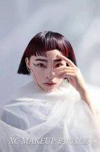 菏澤化妝師培訓巨野學化妝到化妝培訓學校時尚魅影報名送工具