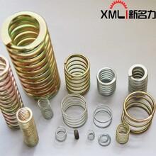 定制各種大小壓縮彈簧精密304不銹鋼圓柱彈簧五金玩具電池壓簧圖片