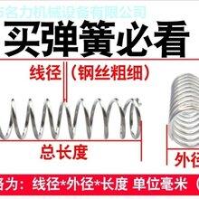 大量批发压缩弹簧减震弹簧加工定做弹簧异形弹簧图片