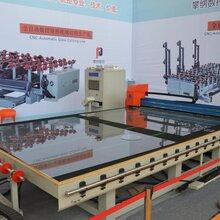 全自動玻璃切割機數控玻璃切割3725—切割傳送臺