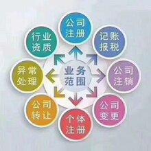山東公司注冊、變更、注銷;代理記賬
