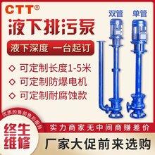 YW型液下無堵塞排污泵工程排污單雙管液下污水泵380V廠家直銷圖片