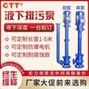 立式YW液下排污泵无堵塞液下泵1.5KW防爆污水泵380V单双管潜水泵