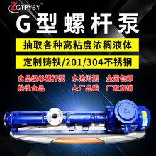 G型螺桿泵無極調速螺桿泵齒輪減速螺桿泵不銹鋼螺桿泵圖片