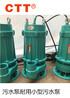 CTT自来水场给水系统排水排污泵三相排水排污泵