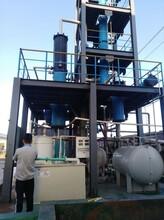 廢酸石墨蒸發設備/精餾塔提濃、三效節能設備、廢酸處理設備廠家圖片
