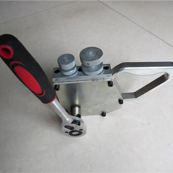 天德立BPJ-40手动皮带剥皮机,操作简便,使用方便