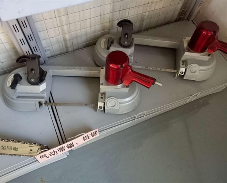 JQD-10/1000金属切割风动带锯,钢管锚杆螺栓切割气动线锯送锯条