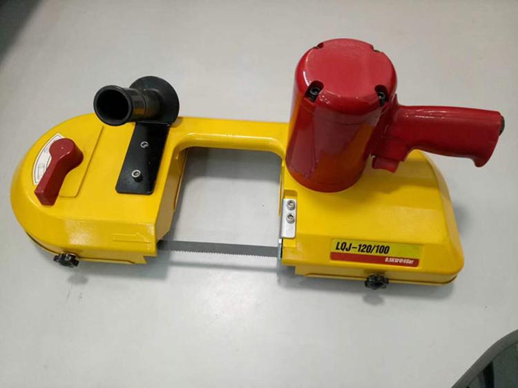 JQD-8/1000无火花钢管切割气动线锯,链条切割气动线锯无漏电危险